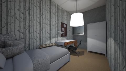 my new bedroom - Bedroom - by marysiaironmonger