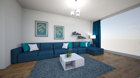 Mr L - Living room - by jollanian