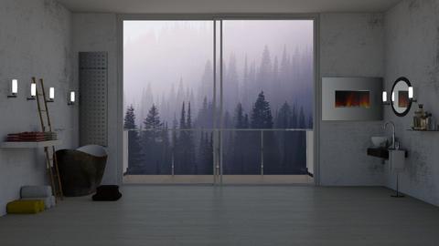bathroom - by sabamnf98