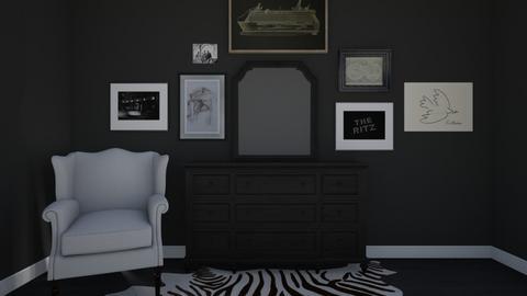 black - Living room - by willhenning