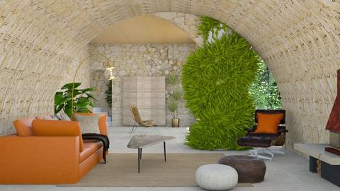 canyon inspired - Living room - by elyssaumber