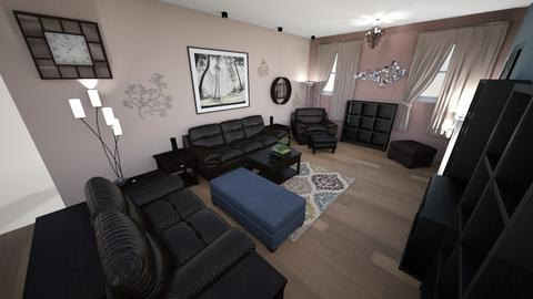 Contemporary Living Rm 5 - Living room - by lioness006