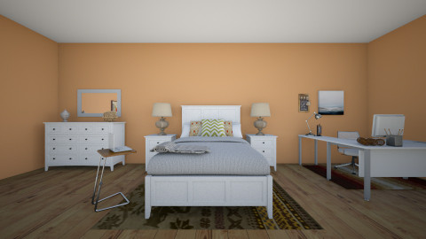 fall - Country - Bedroom - by Katherine Gilbert