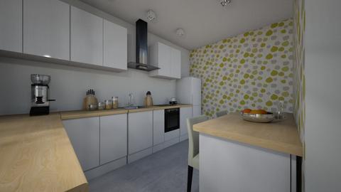 kuchnia - Kitchen - by paulinepaulinepauline
