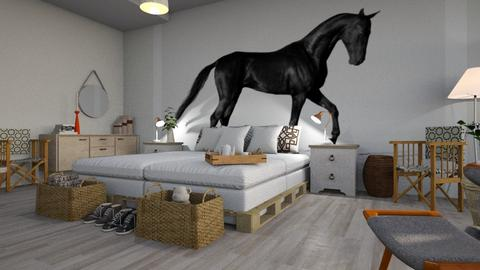 Horse_Lover - Living room - by ZuzanaDesign