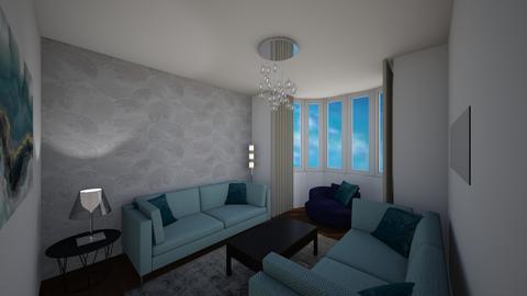 Levett Gardens A7 - Living room - by JLStratford