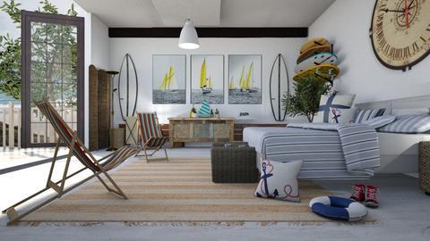 Nautical_Morning - Bedroom - by ZuzanaDesign