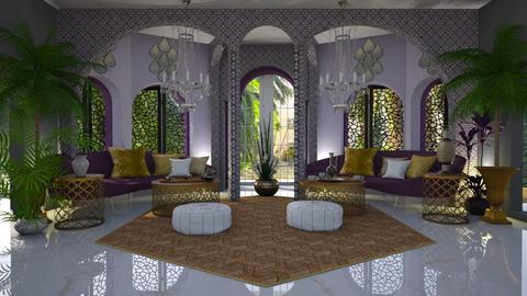 Oriental Series Purple - by ZsuzsannaCs