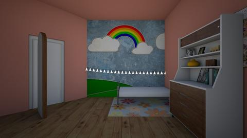 Ariannas Room - Bedroom - by goldygi