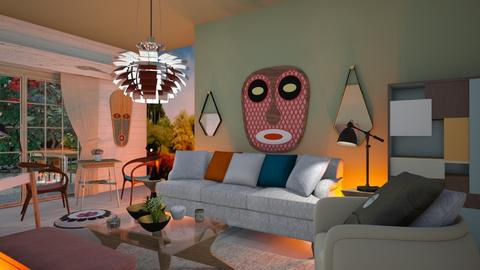 No place like home - Eclectic - Living room - by The quiet designer