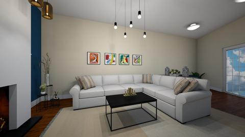 salon  - Living room - by sahar94