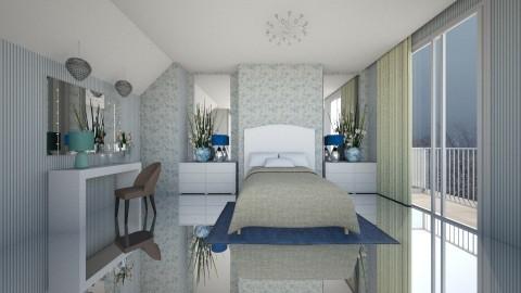 Quarto - Bedroom - by Sanare Sousa