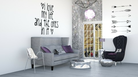 lovemylife - Living room - by afg15
