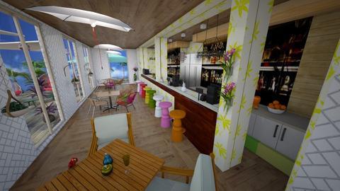 Tropical bar - Global - by augustmoon