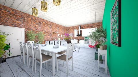 kitchen garden - Vintage - Kitchen - by oliwiaoliwia