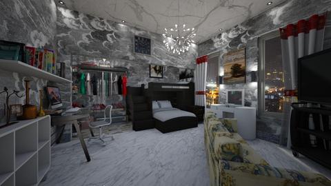 teen room - Bedroom - by slyteryn oliver