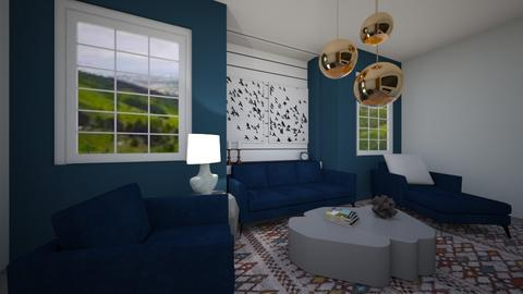 Blue Living 83390 - Modern - Living room - by Puppies44