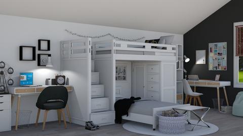 Bunk Beds - by juliavalerie