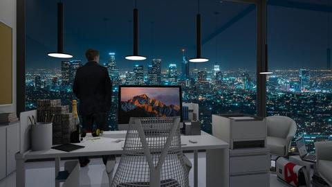 Night work - Modern - Office - by Sybrenjo Roemer_946
