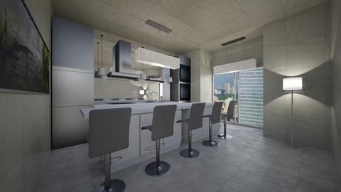 MODERN HOUSE - Modern - Office - by Carlos Gonzalez_886