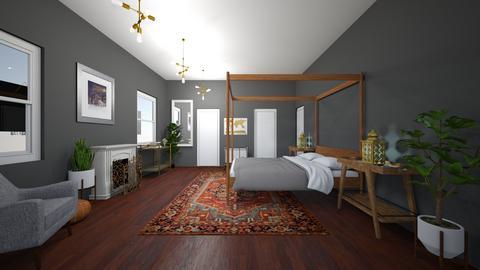 Bedroom B - Bedroom - by earthygirl112