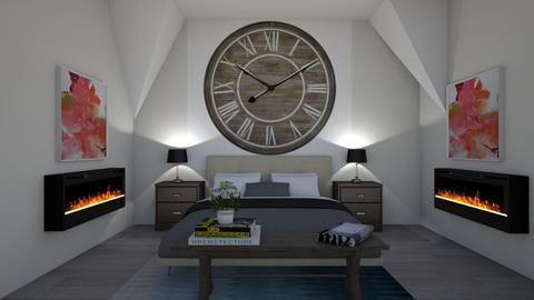 Clock Wall - Bedroom - by LaxNat
