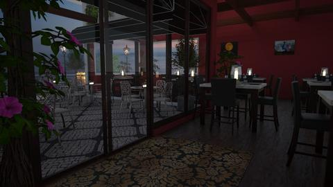 Trattoria - Dining room - by CCPompey