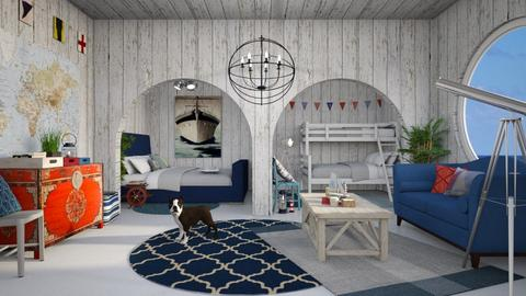 Nautical - Bedroom - by House of Fritz