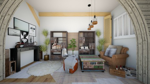 boloo - Living room - by jojoclik