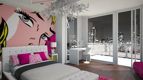 girl room_bankov - Feminine - Bedroom - by viktoraa