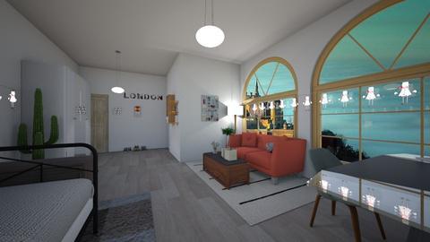 teenage room  - Modern - Bedroom - by ginnystephanie