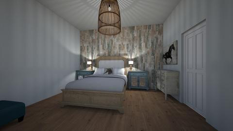 Western Master Bedroom - Vintage - Bedroom - by Callie Carlson_192