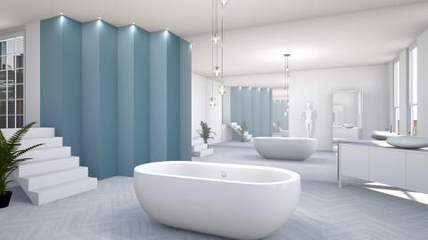 Modern Bathroom - Bathroom - by KimAlys