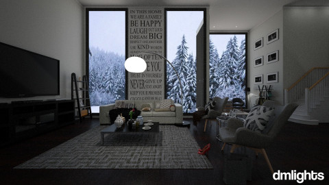 winter is coming - Living room - by DMLights-user-1044826
