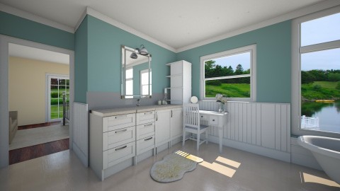 country bathroom - Country - Bathroom - by megalia42