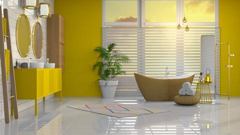 Yellow  - Bathroom - by jagwas