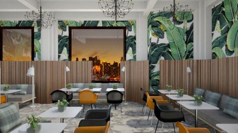 Eames Modern Restaurant - Retro - by 3rdfloor