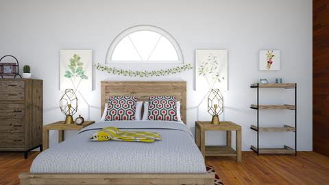 spanish room - Bedroom - by spatel152