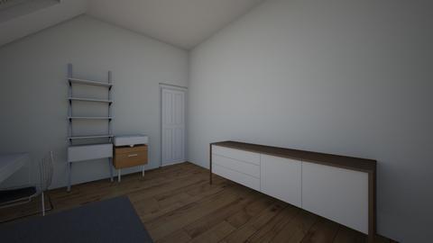 slaapkamer jojo vloer 1 - Modern - Bedroom - by jojo505