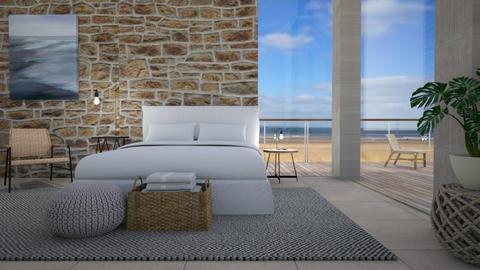 Beach house - Bedroom - by Tuija