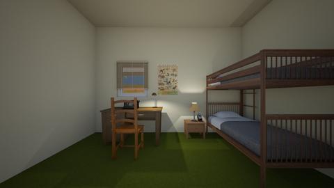 Family Home Bedroom - Kids room - by WestVirginiaRebel