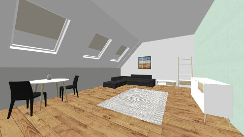 Living Space - Living room - by Katie Kins
