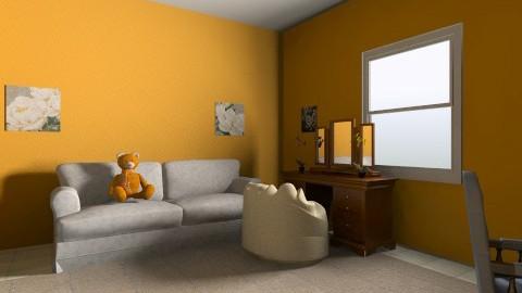 room - Modern - Bedroom - by Klaudia Zajdel