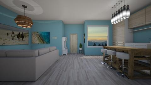 Beach Condo - Living room - by lostboy11