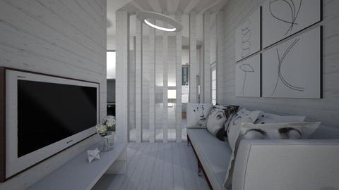 Casa214LivingRoom - Minimal - Living room - by nickynunes