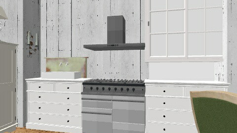 rustic - Rustic - Kitchen - by isabelleee