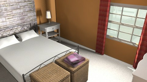samors - Country - Bedroom - by nikolov_ivaylo