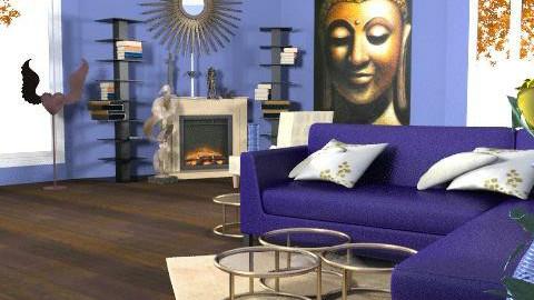 Ömega  - Retro - Living room - by SariJo