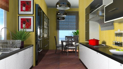 Sizzle - Eclectic - Kitchen - by channing4