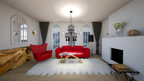 parisian design - Living room - by magdasmo